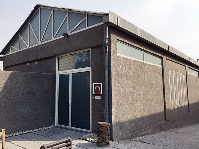 The Sultan Gallery today sits in an industrial neighborhood near Kuwait's international airport.