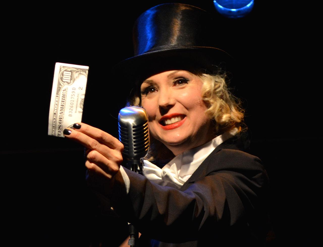 "Jenny Lee Mitchell in ""Love und Greed,"" part of 'Money Lab'"