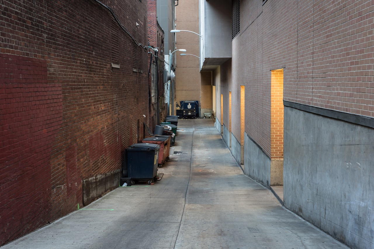 Alley, Across From Ford's Theatre, Washington, DC, 2013