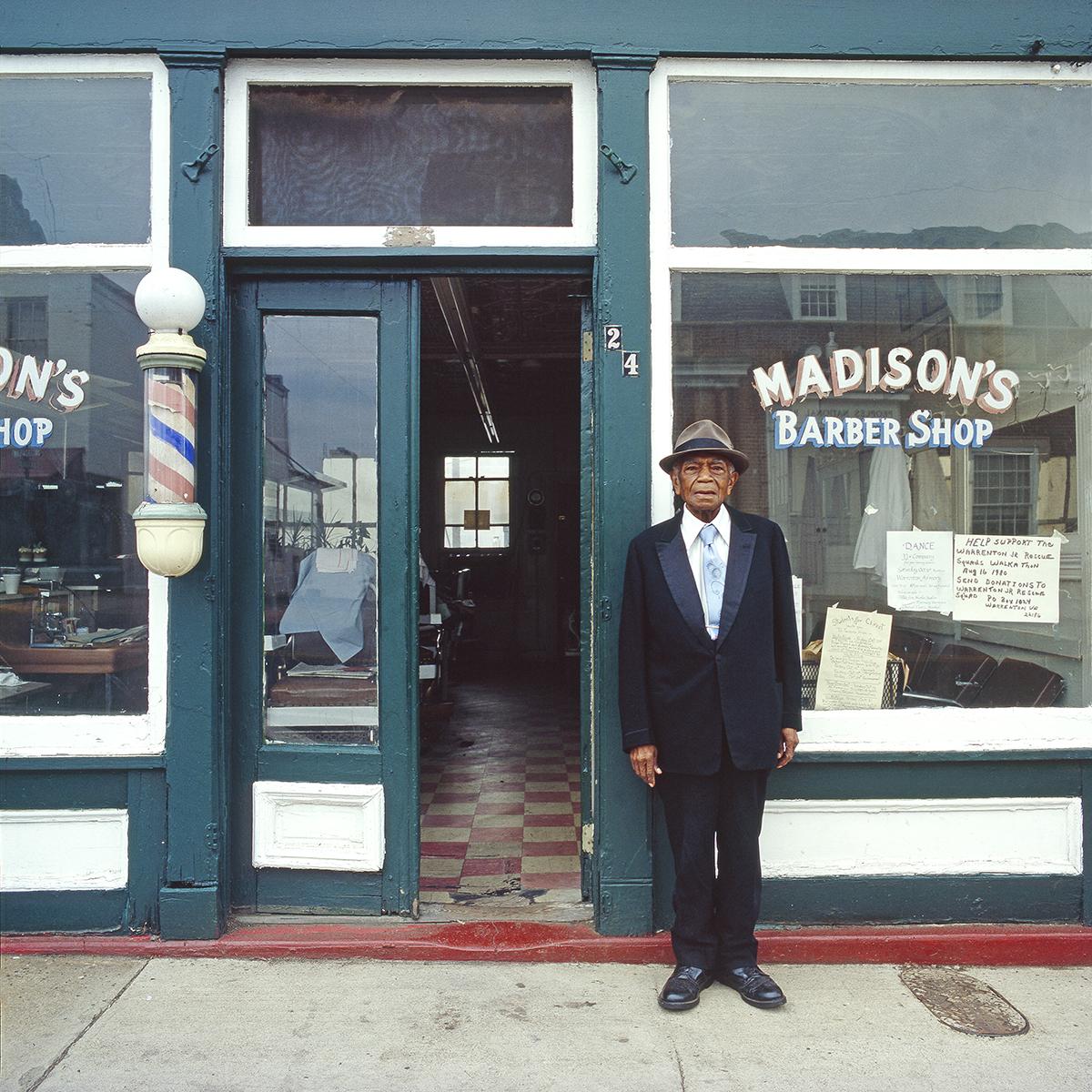 "John Pinderhughes (Kamoinge), ""Charles Madison"" (1982), from the series 'Older Black Americans'"