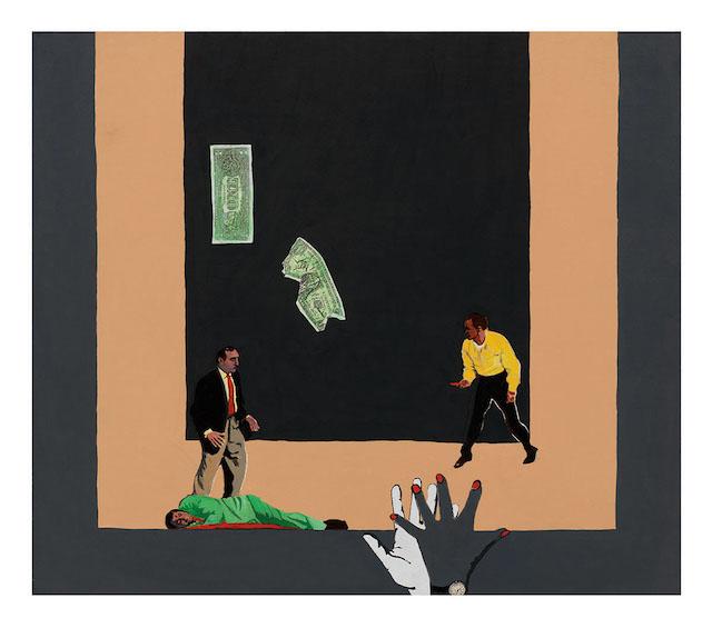 Rosalyn Drexler's Noir Paintings