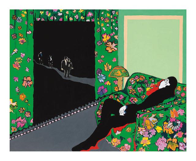 Rosalyn Drexler, Night Visitors (1988)