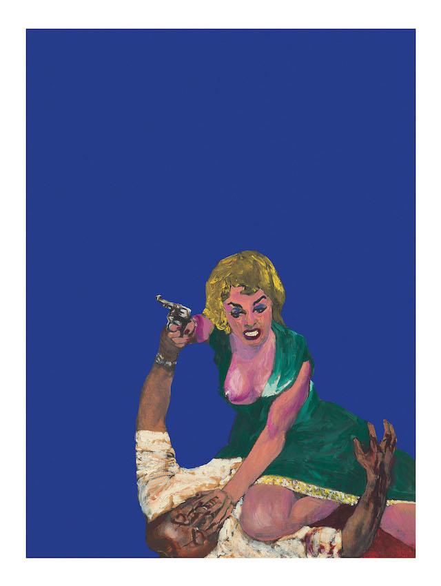 Rosalyn Drexler, Self-Defense (1963)