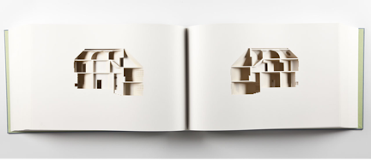 """Olafur Eliasson, """"Your house"""" (1967) Library Council of the Museum of Modern Art, New York, 2006 edition 198 of 225 + 25, Collection of Teixeira de Freitas, Lisbon, 29 x 45 x 11,5 x 11,5 cm (click to enlarge)"""