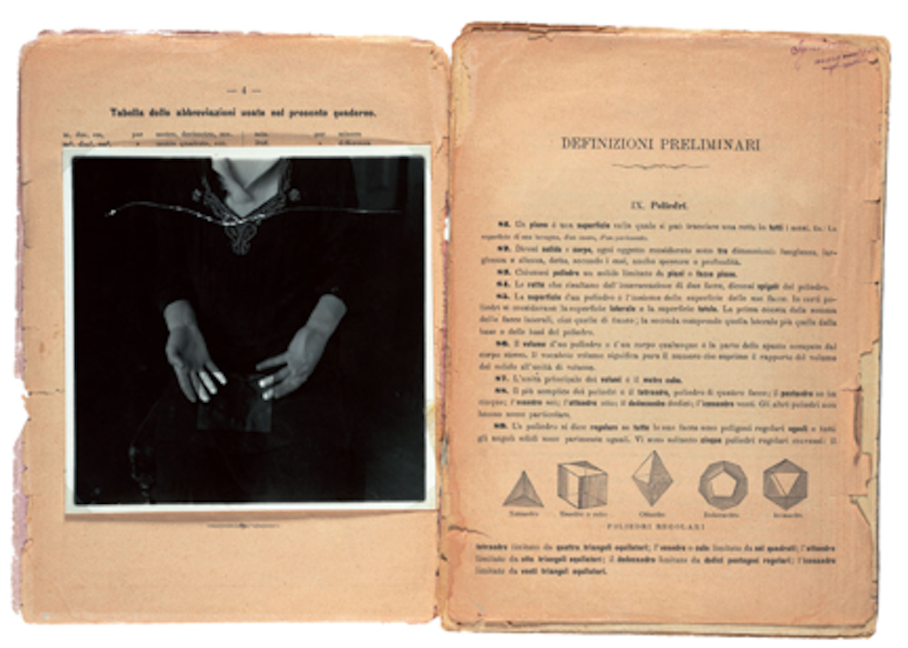 """Francesca Woodman, """"Some Disordered Interior Geometries"""" (1981) (courtesy of George and Betty Woodman)"""