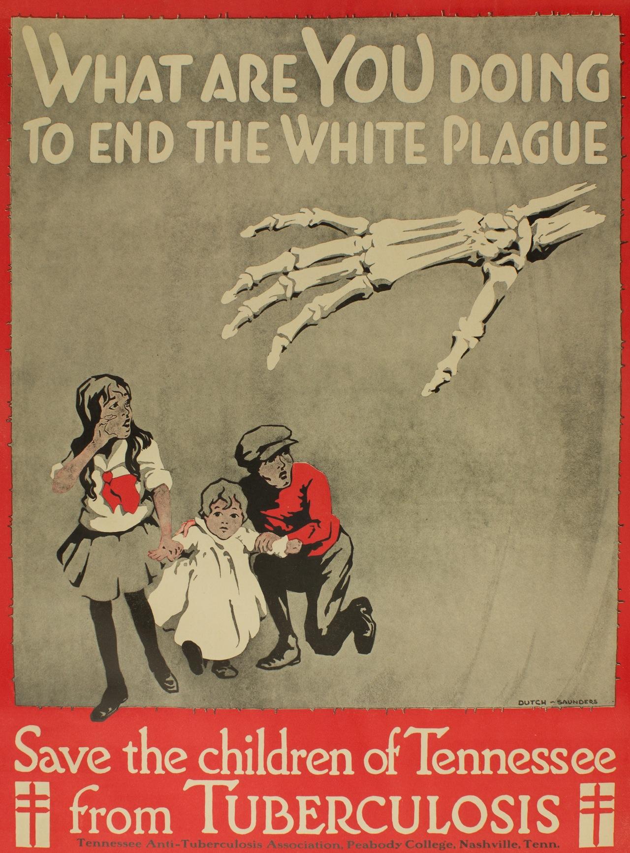 White Plague Poster