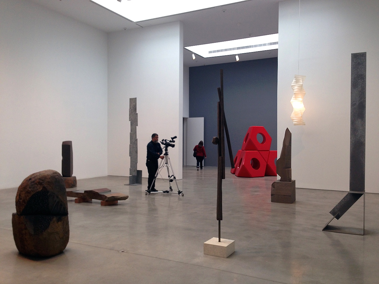 Installation view, 'Isamu Noguchi: Variatons' at Pace Gallery