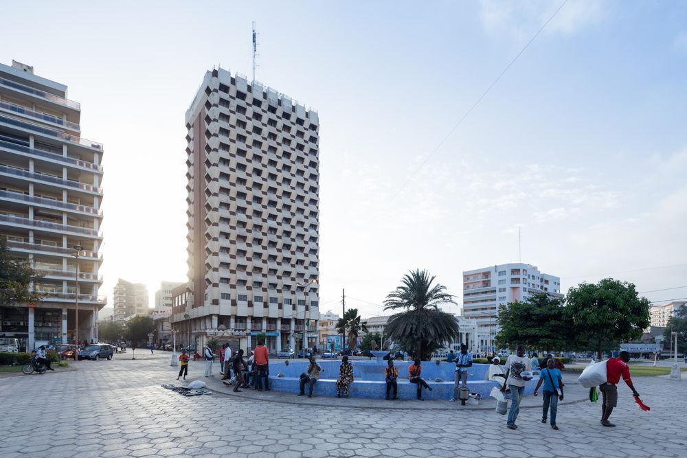 Hotel Independence, Dakar (Senegal), von/by Henri Chomette and Roland Depret, 1973-1978, Foto/photo:© Iwan Baan