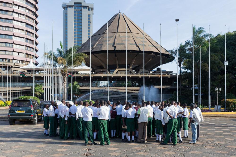 Kenyatta International Conference Centre, Nairobi (Kenya), von/ by Karl Henrik Nostvik, 1967-1973, Foto/photo: © Iwan Baan