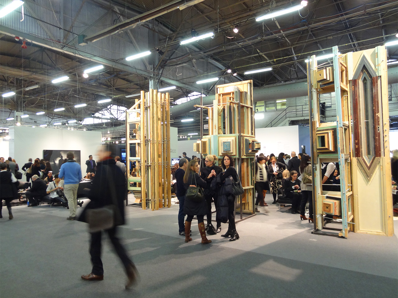 Inside the 2014 Armory Show (all photos by the author for Hyperallergic)