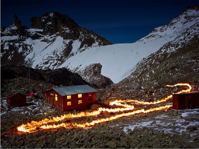 "Simon Norfolk, ""The Lewis Glacier, 30 x 40 inches Digital C-type print Edition of 7 (plus 2 £ 6,000.00"
