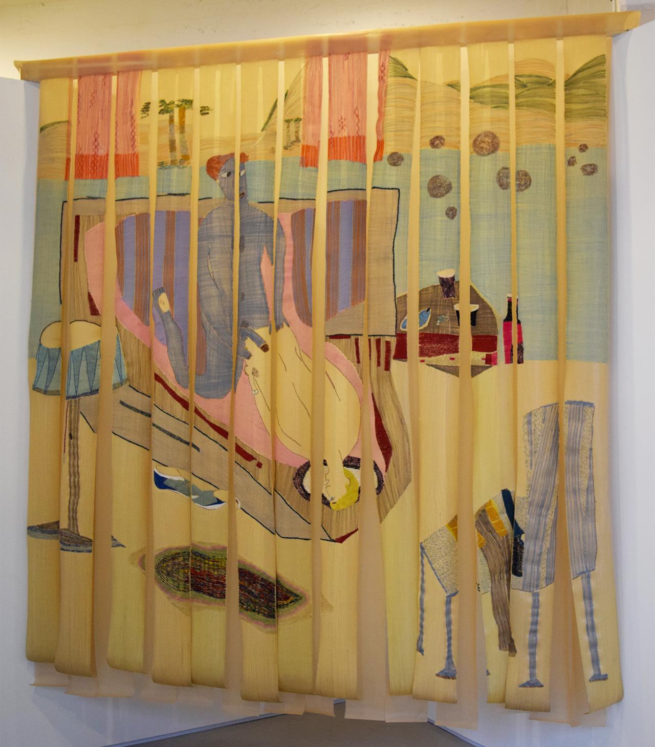 "f. marquespenteado, ""Fodendo com estillo"" (2006) in the Mendes Wood DM booth"