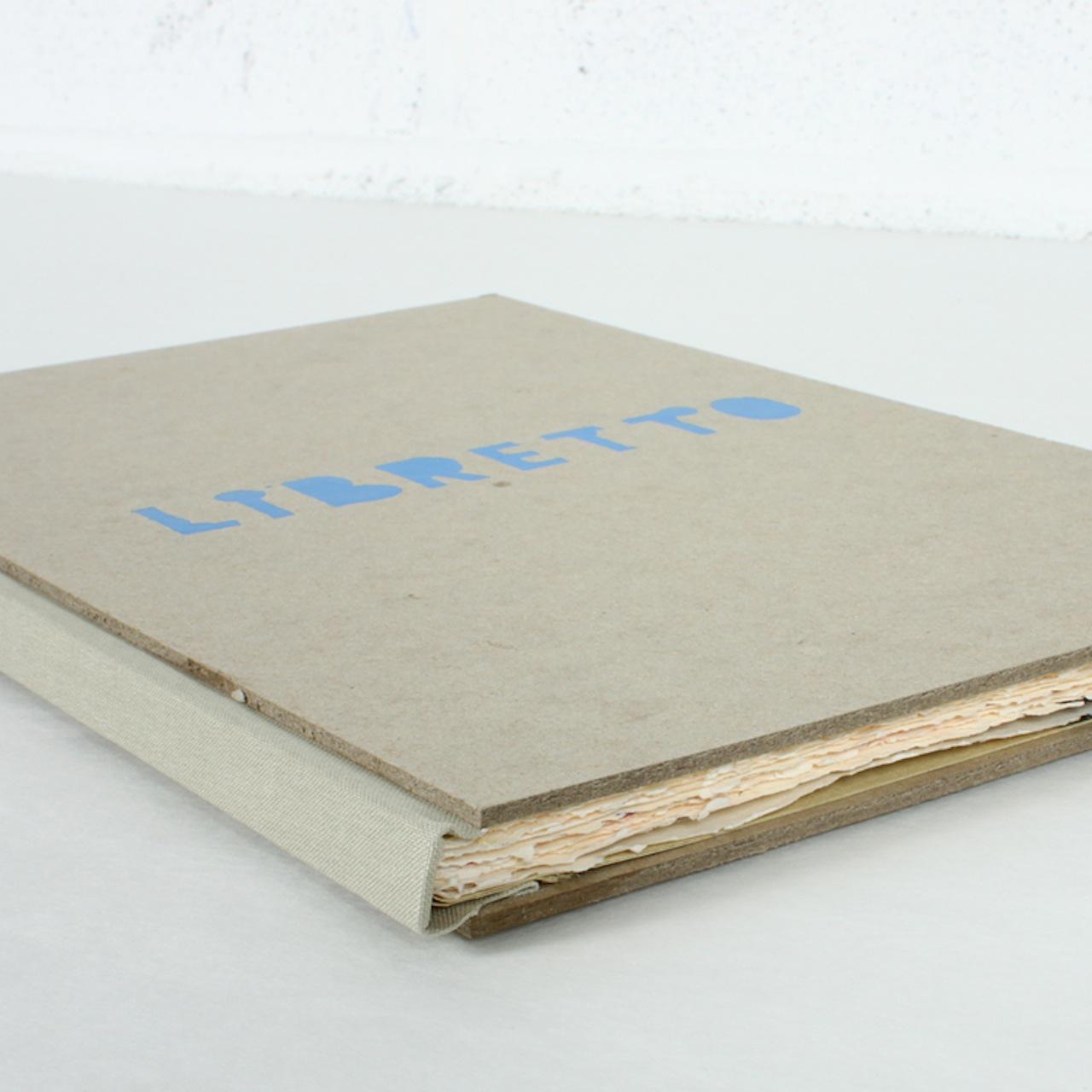 """Ward Schumaker, """"Libretto"""""""