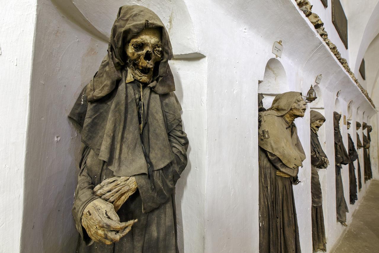 Oria Cathedral, Oria, Italy (©2015 Dr. Paul Koudounaris)