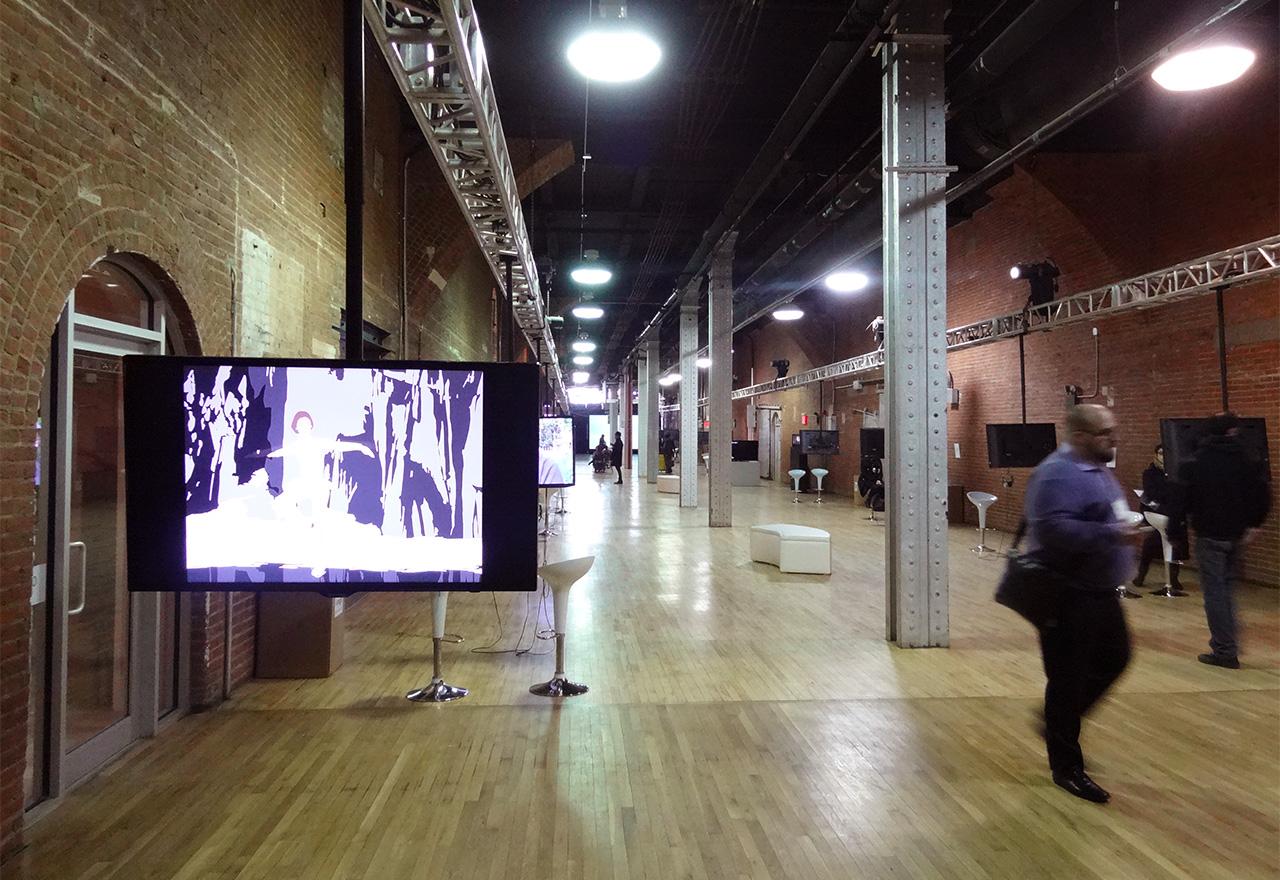Inside the Moving Image art fair