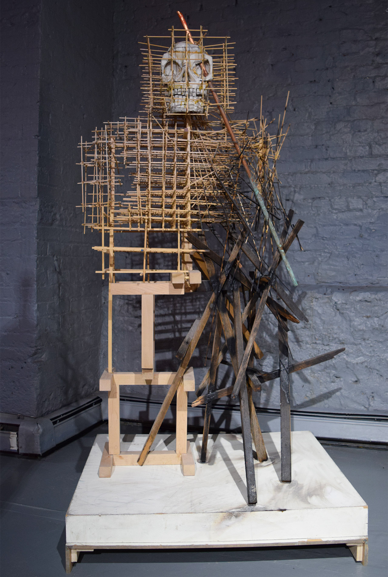"""Asif Mian, """"The Resurrection of Phineas Gage"""" (2015) at FiveMyles"""