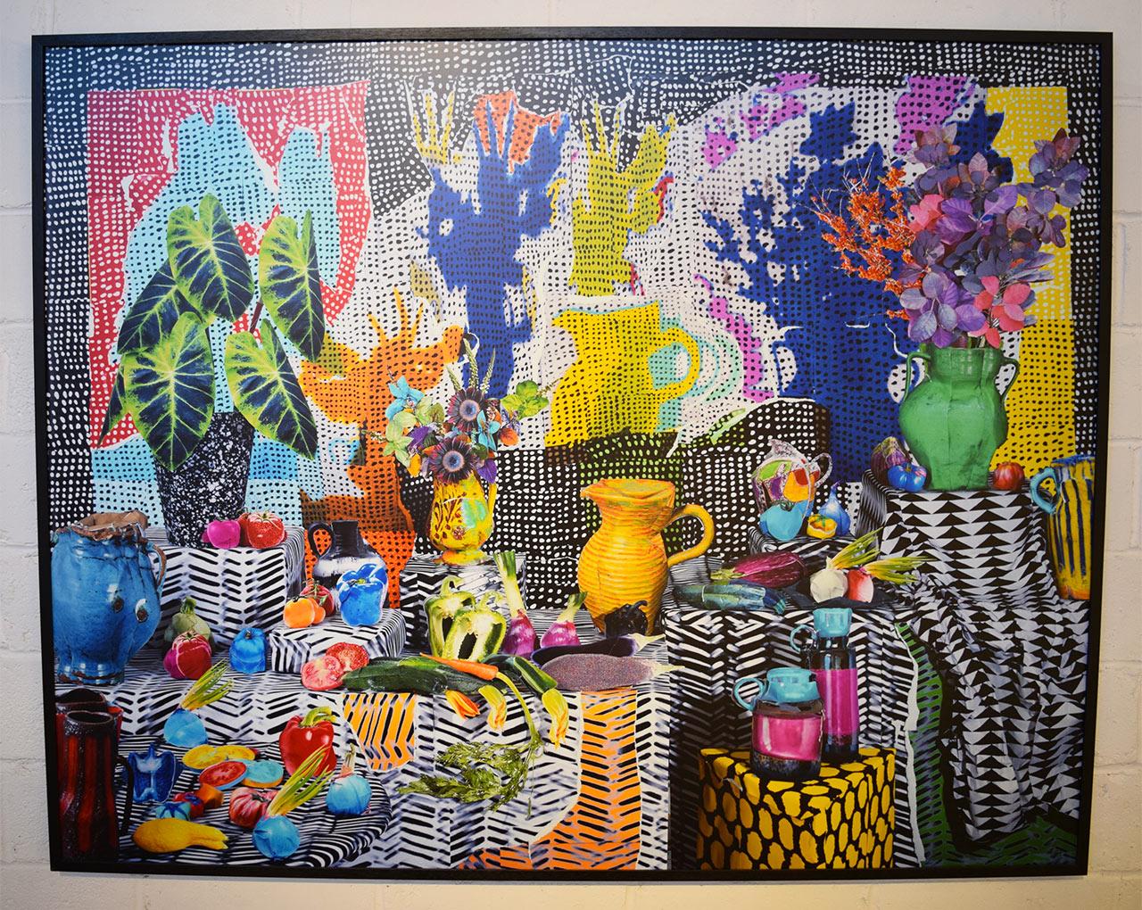 "Daniel Gordon, ""Ratatouille and Smoke Bush"" (2013) at Pioneer Works"