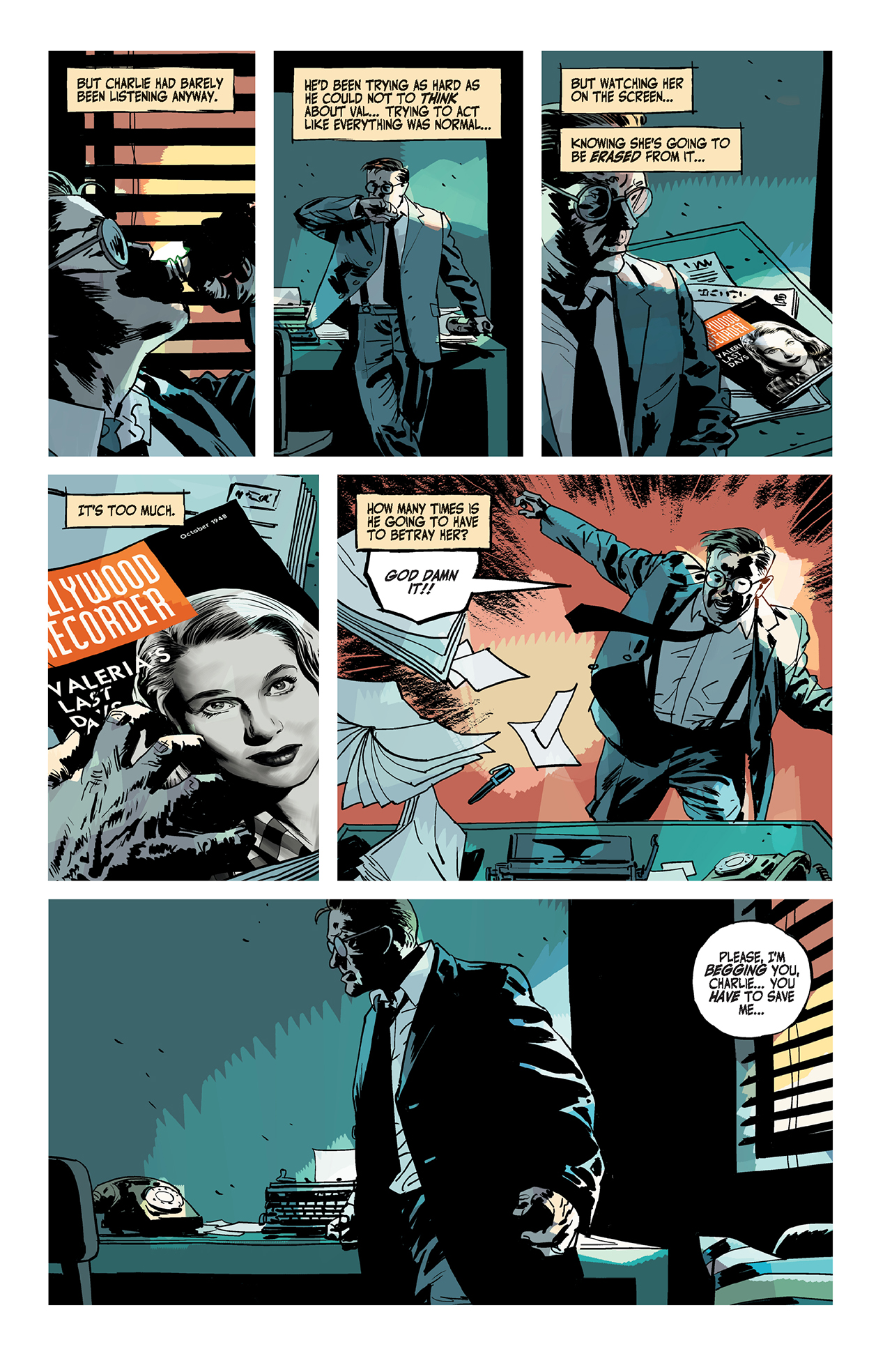 Page from 'The Fade Out'