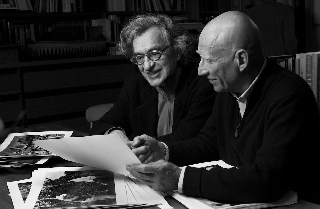 Left to right: Director Wim Wenders and Sebastião Salgado. Photo courtesy of © Sebastião Salgado/ Amazonas Images/ Sony Pictures Classics