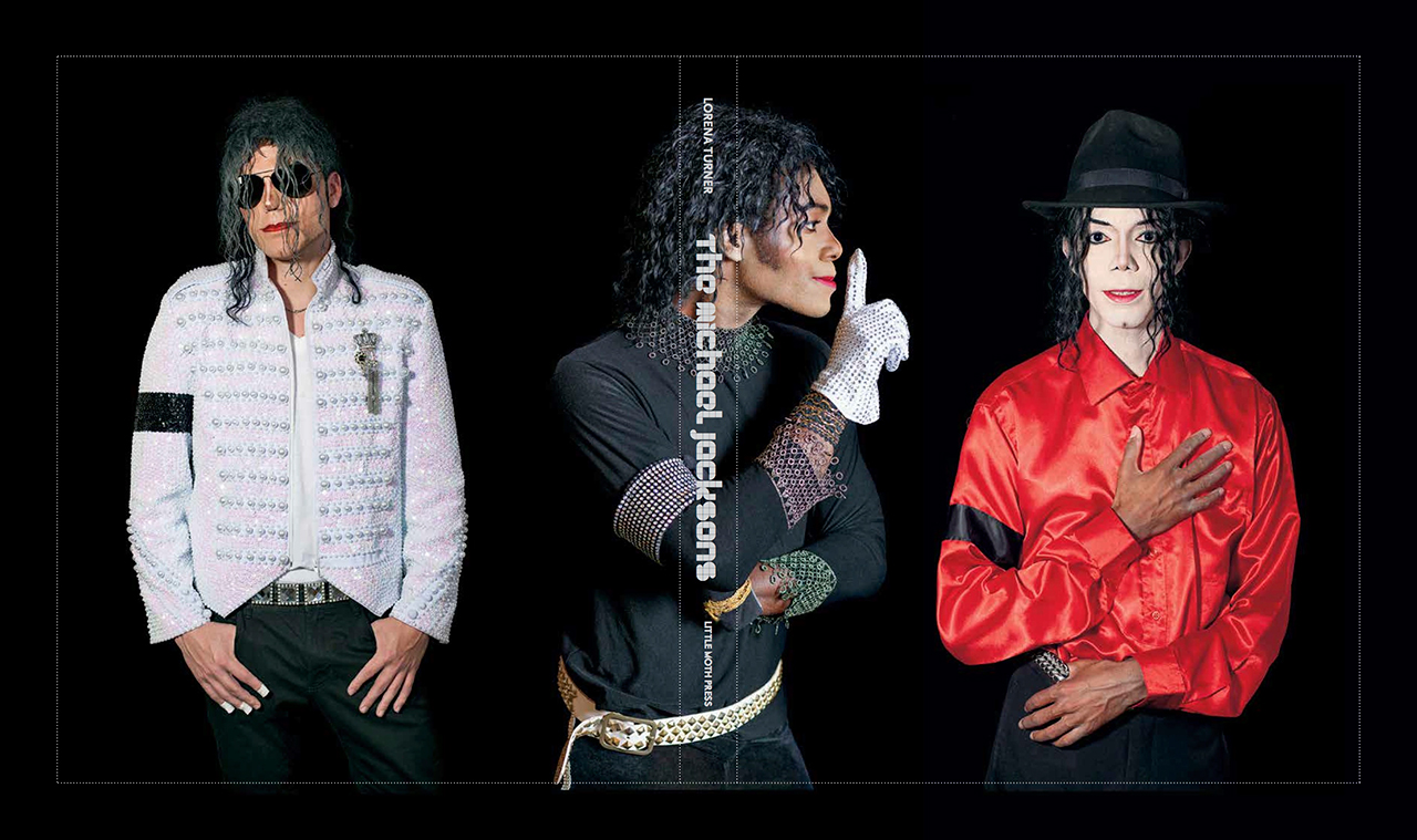 The full cover of Lorena Turner's 'The Michael Jacksons'