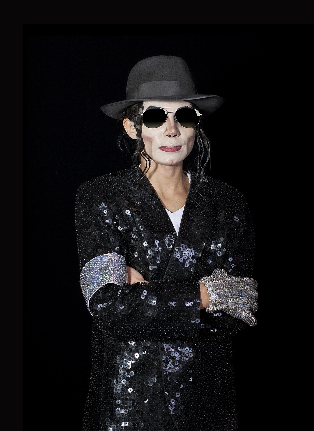 "Lorena Turner, ""MJX Jackson, Tribute Artist, Matawan, New Jersey, 2012"""