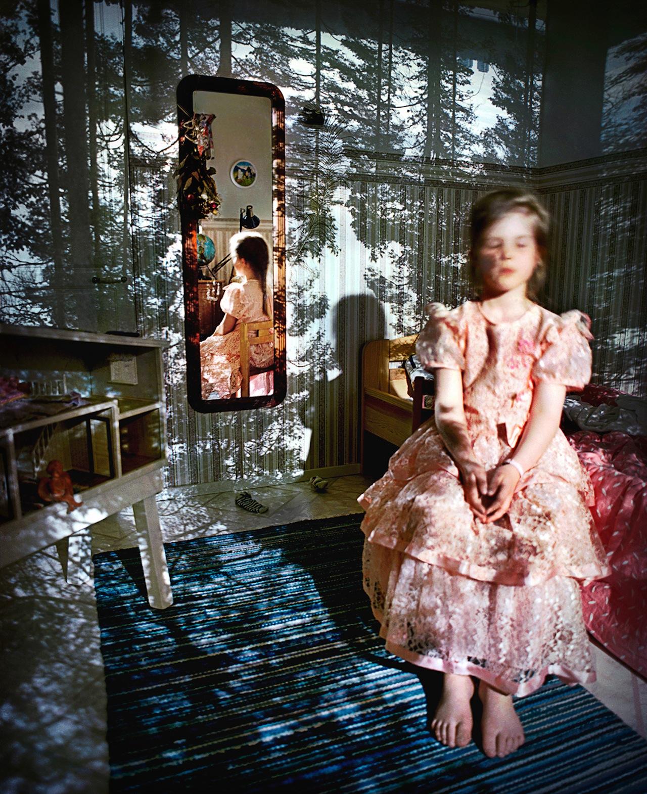 Camera obscura / Paula, Oulu, Finland, 1996