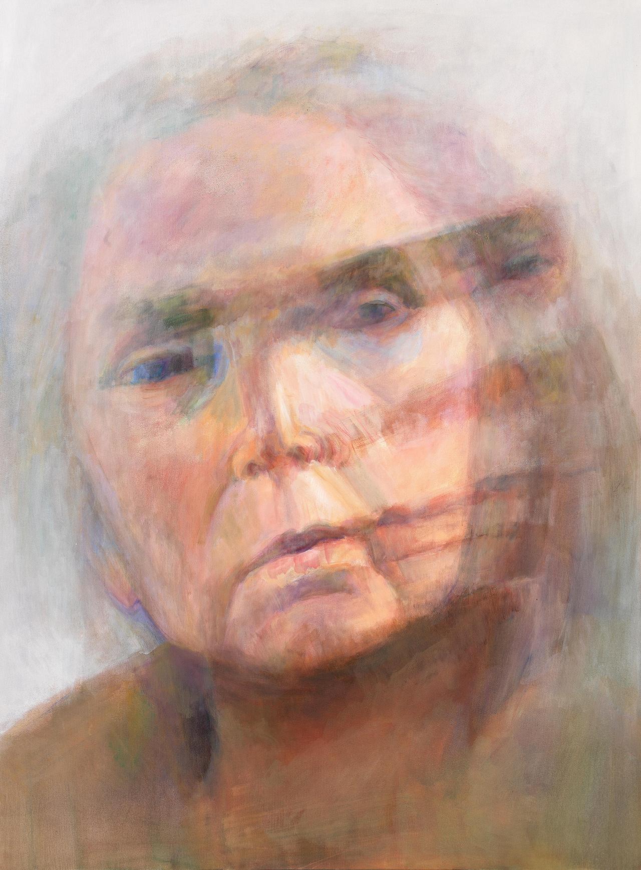 "Joan Semmel, ""Self-Portrait #4"" (2010) (courtesy Alexander Gray Associates, New York, © 2015 Joan Semmel / Artists Rights Society [ARS], New York)"