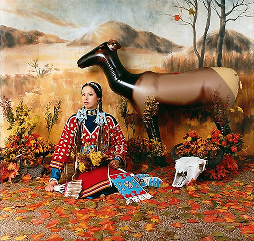 """Four Season (Fall)"",  Wendy Red Star, Crow, (2006)"
