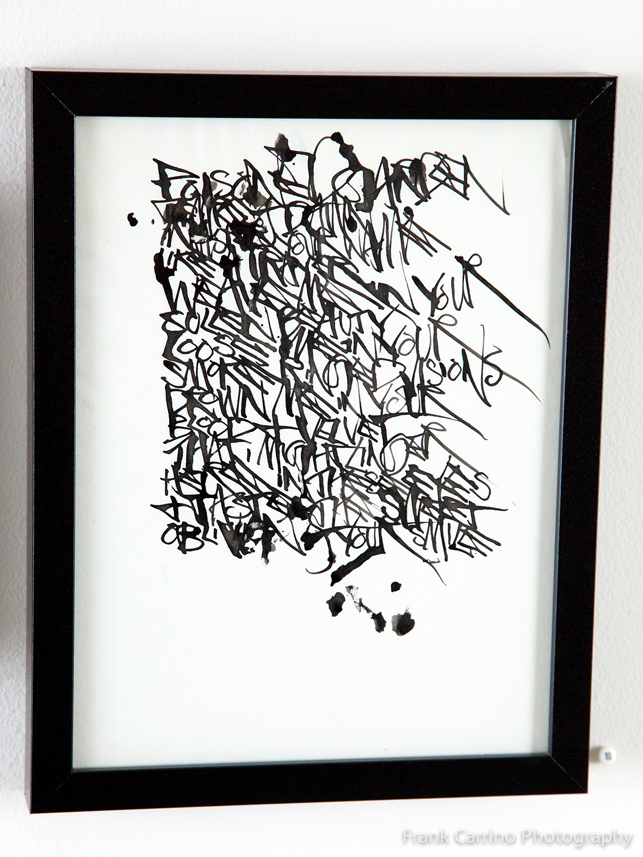 "Martin Wong, ""Untitled (8)"" (nd), ink on paper (courtesy PPOW Gallery, New York)"