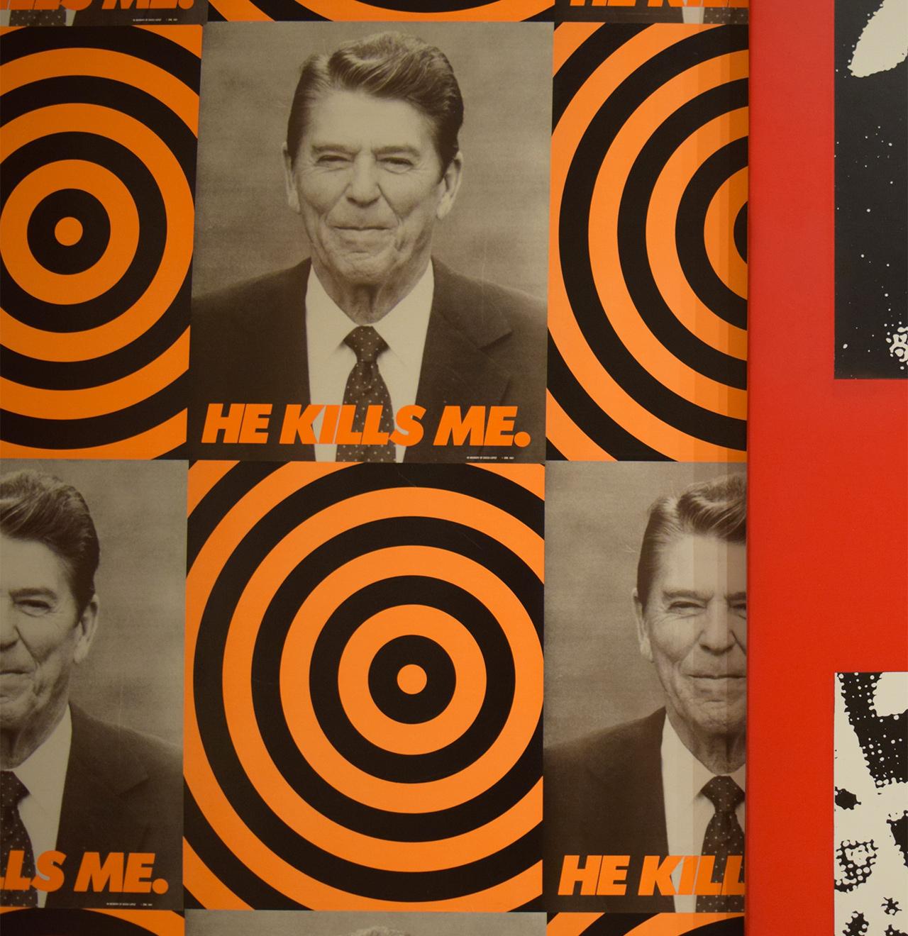 "Donald Moffett, ""He Kills Me"" (1987)"