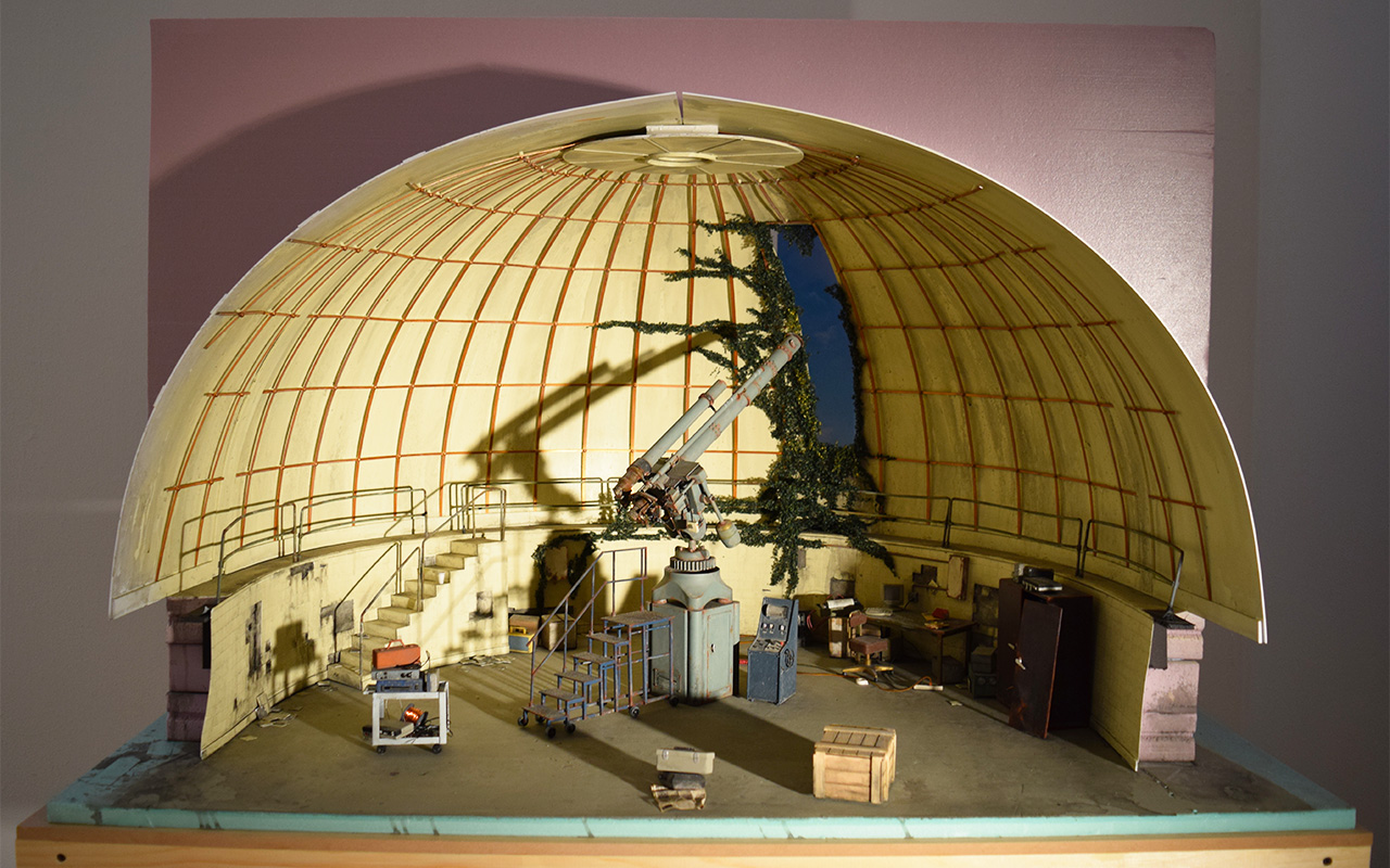 "Kathleen Gerber and Lori Nix, ""Observatory"" (2013)"