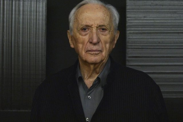 Pierre Soulages (photo by Dorian.bayol/Wikimedia Commons)