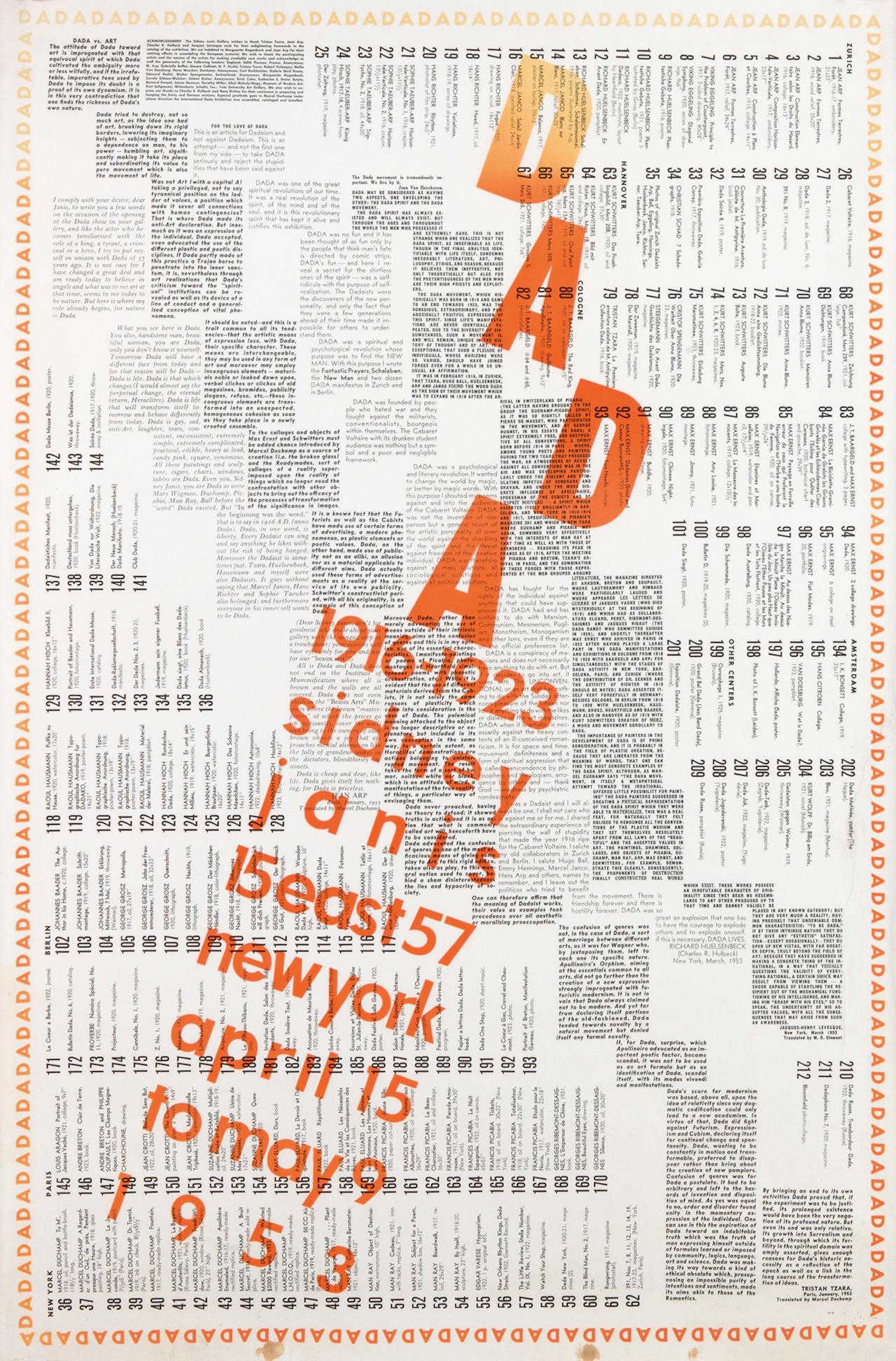 "Marcel Duchamp, ""Dada 1916-1923 / Sidney Janis"" (1953) (Courtesy of Swann Auction Galleries)"