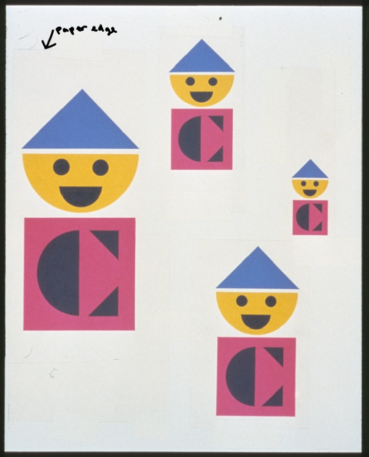 2020_Everything is Design_Paul Rand_Courtesy of Museum of City of NYColorforms1959logo Courtesy Steven HellerPaul Rand created the Colorforms logo in 1959.