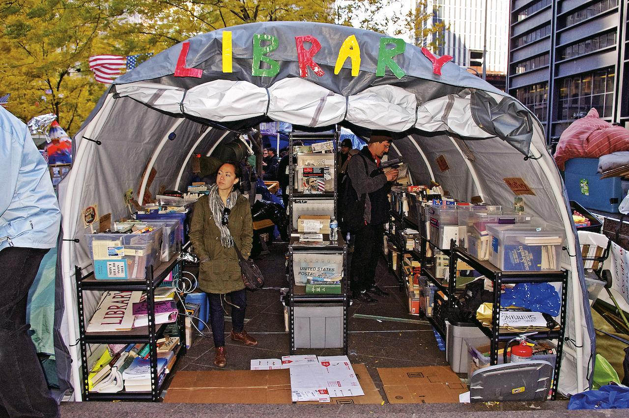 Occupy: credit David Shankbone