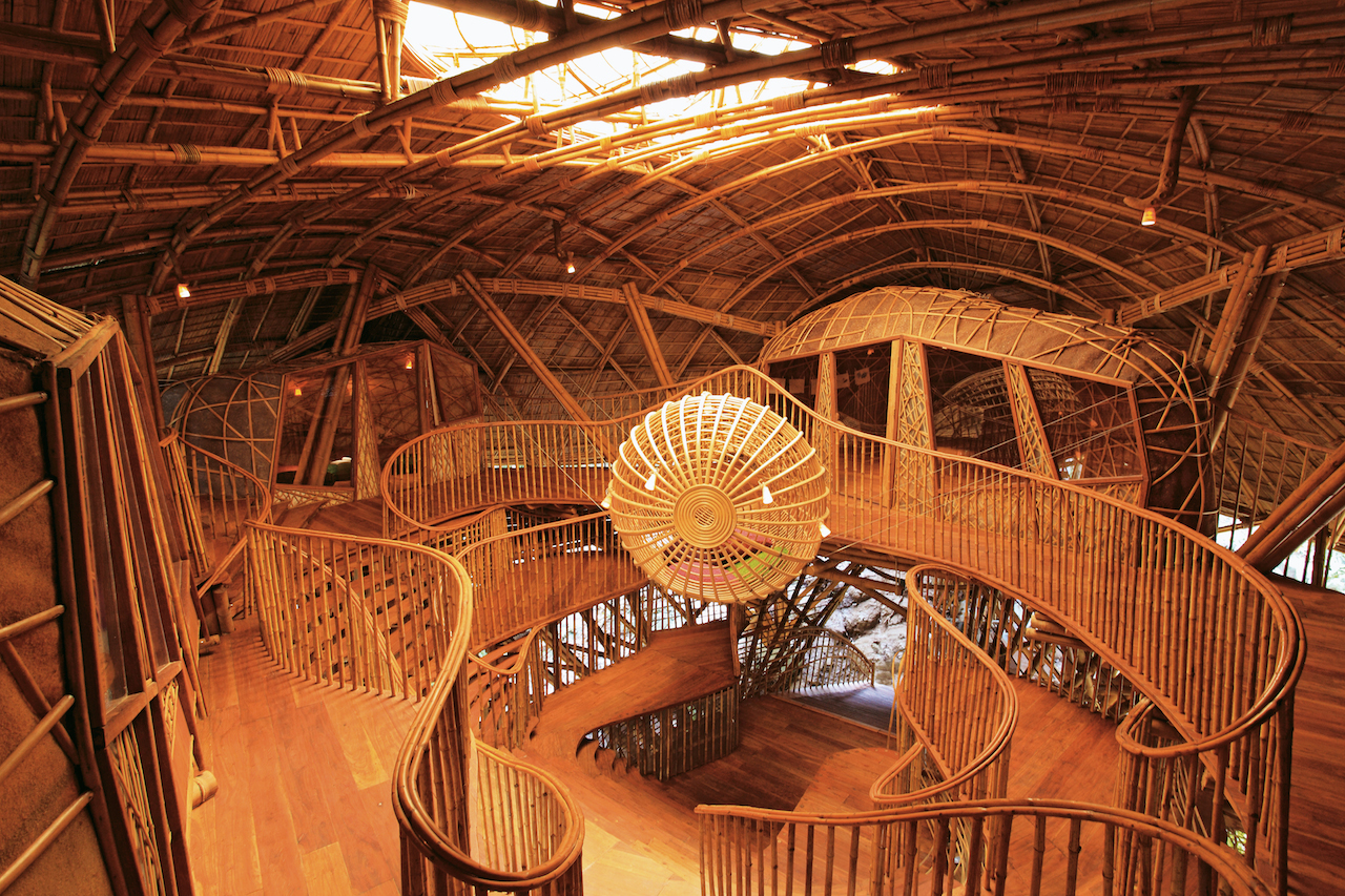 BambooDome: credit Boris Zeisser/24H-architecture