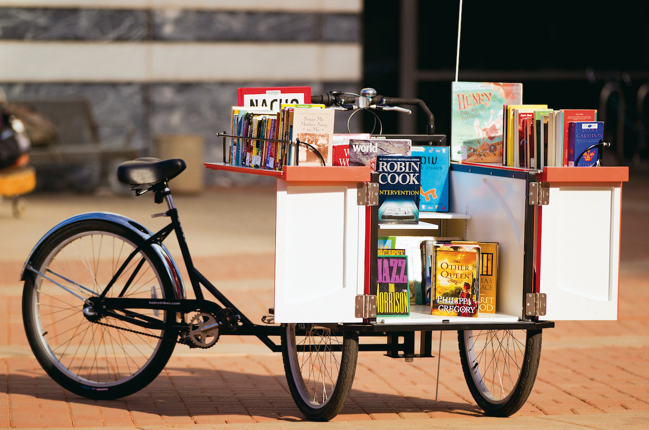 190TucsonBookbike: credit Pima County Communications Dept