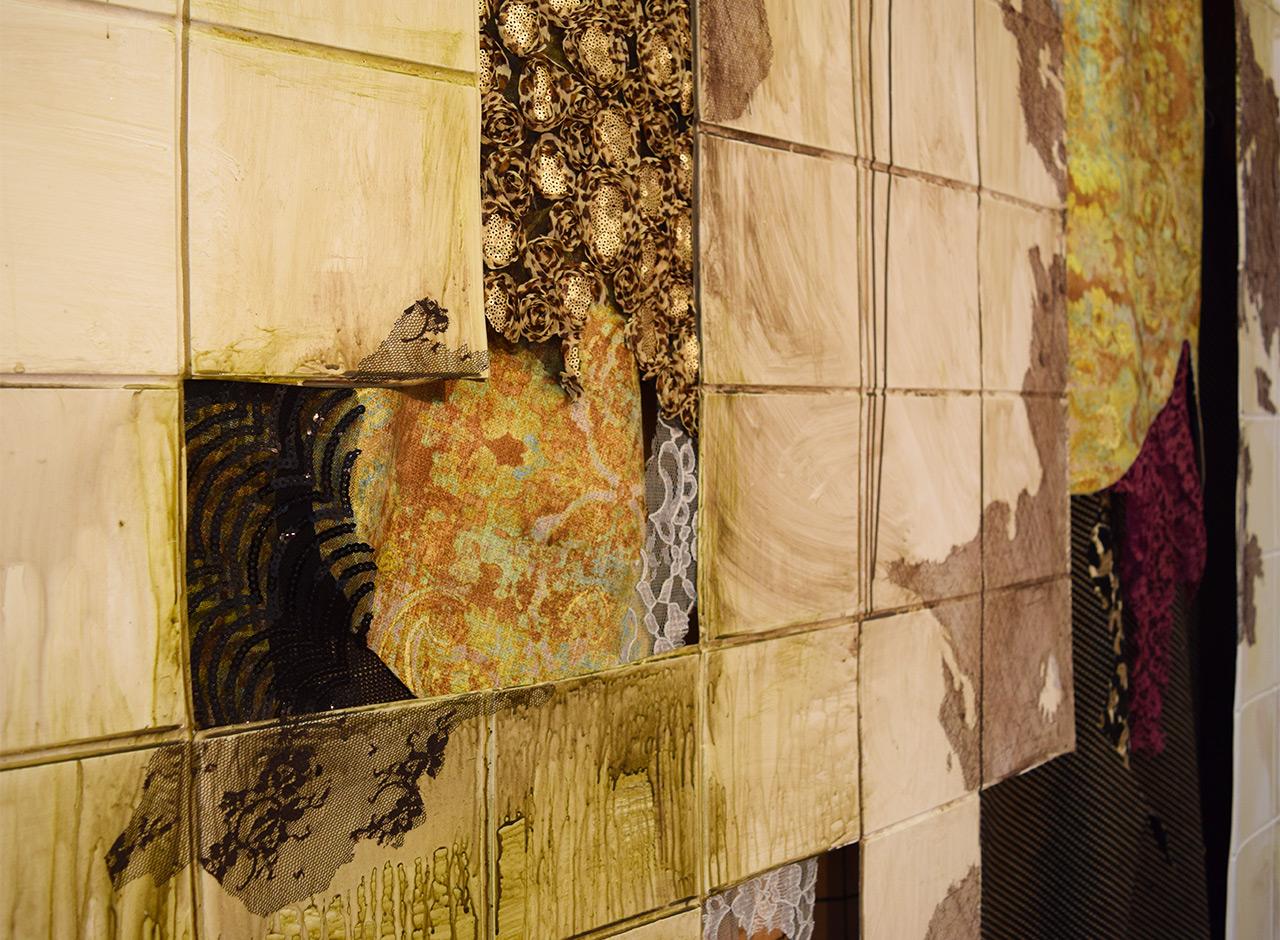 "Detail of Lina Puerta, ""Cascara (Peel)"" (2014)"