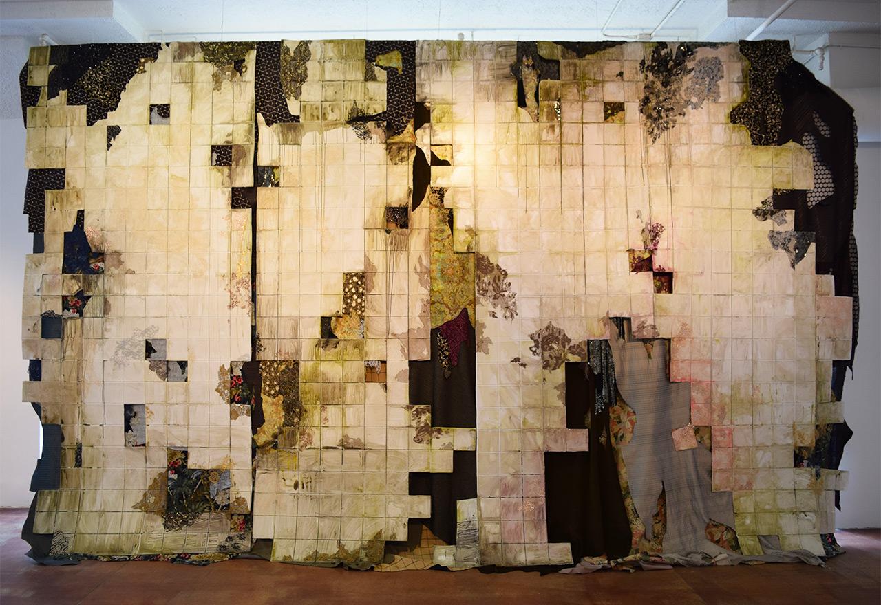 """Lina Puerta, """"Cascara (Peel)"""" (2014)"""
