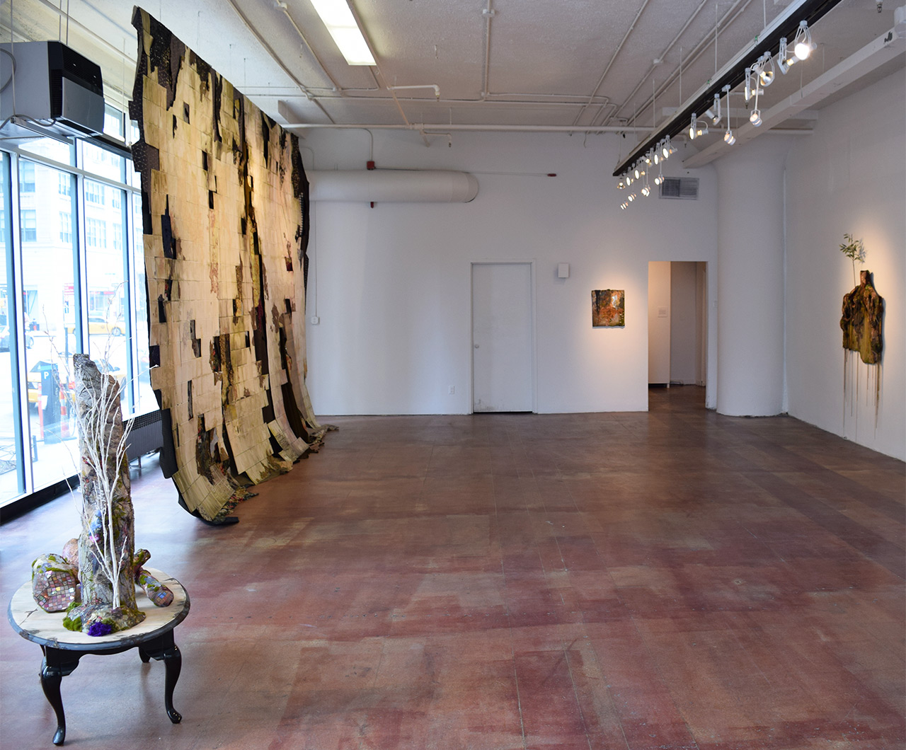 'Lina Puerta: Traces' installation view