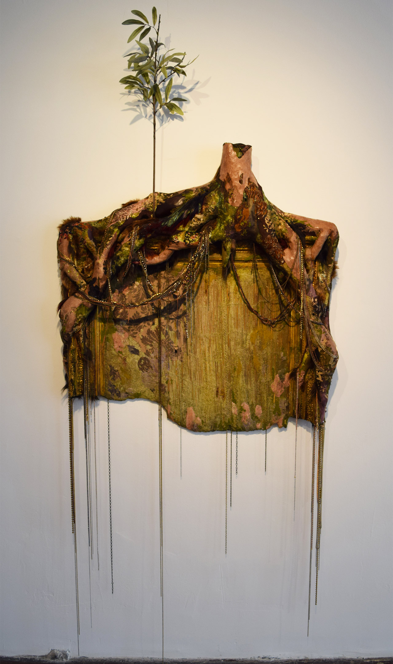 """Lina Puerta, """"Untitled (Tree and Frame)"""" (2014)"""