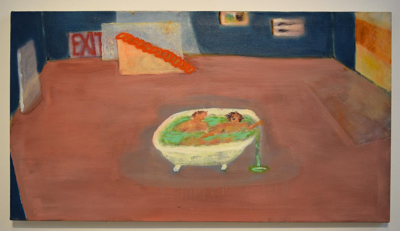 "Katherine Bradford, ""Studio Bath"" (2011–14)"