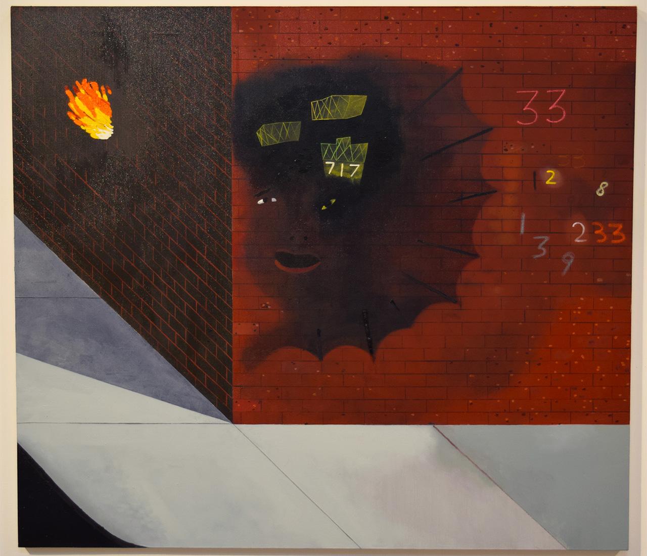 """Kenny Rivero, """"Homage to the Three Three (PE NYK)"""" (2015)"""