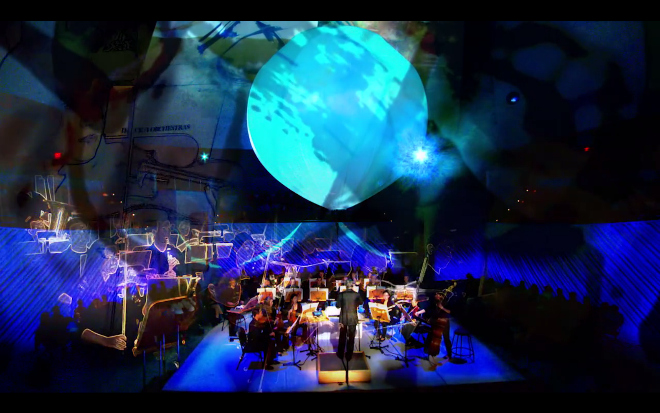 Dance 4/Orchestras (1982) performed by the New World Symphony in 2013 (courtesy New World Symphony, America's Orchestral Academy)