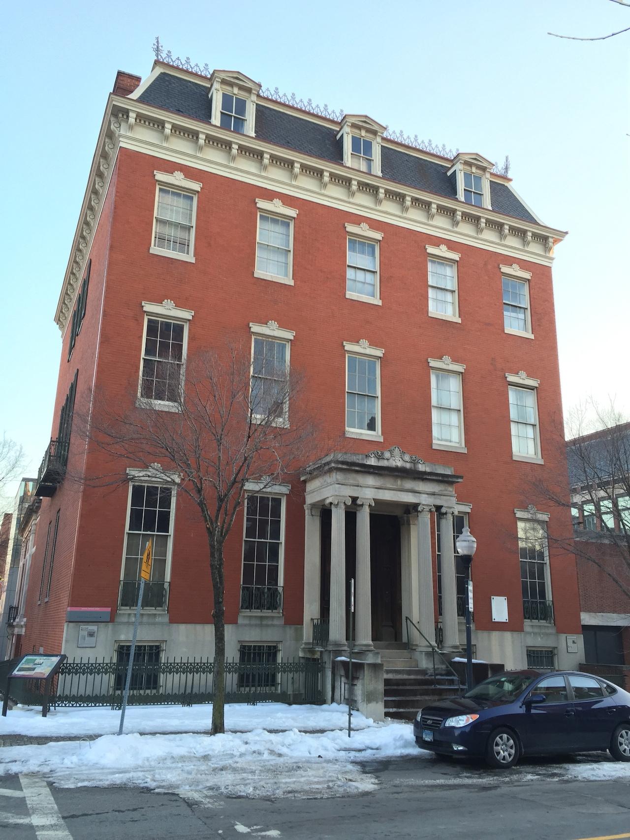 Exterior of the Enoch Pratt House
