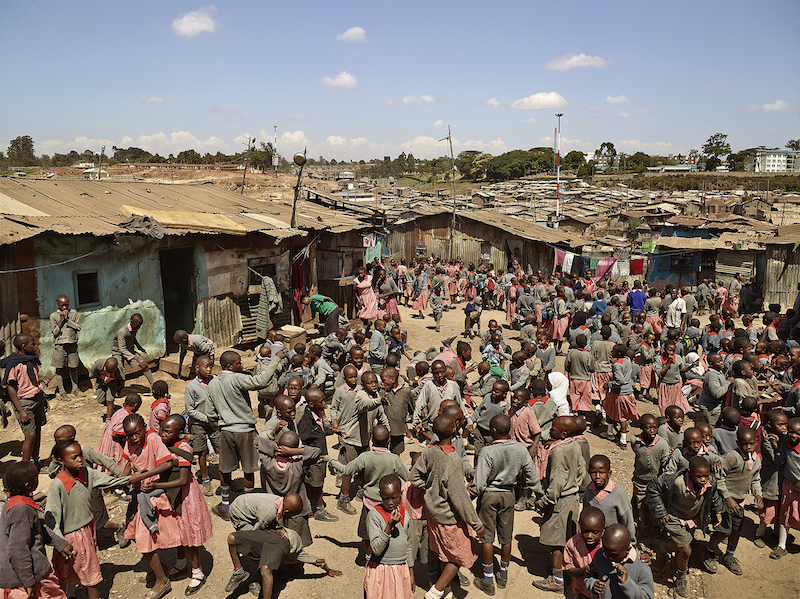 Valley View School, Mathare, Nairobi, Kenya (© James Mollison)