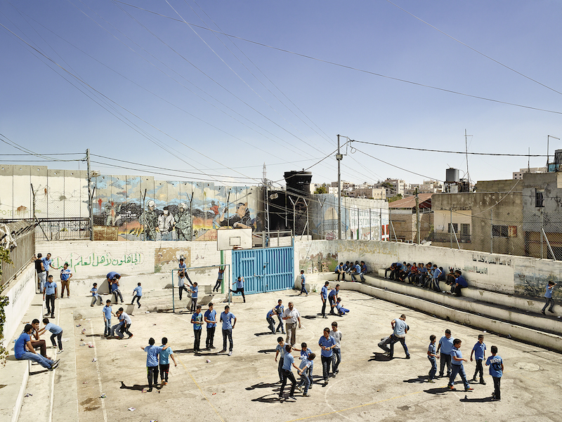 Aida Boys School, Bethlehem, West Bank (© James Mollison)