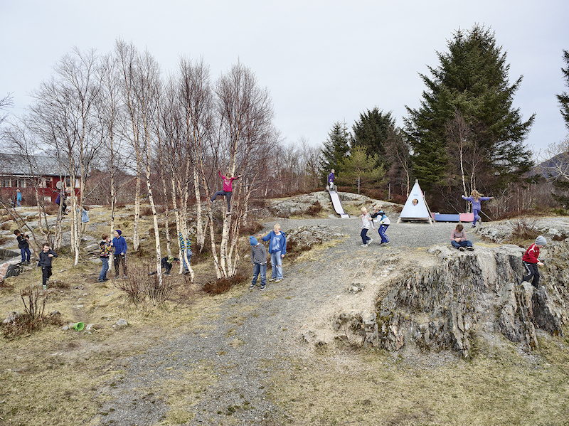 Utheim Skole, Kårvåg, Averøy, Norway (© James Mollison)
