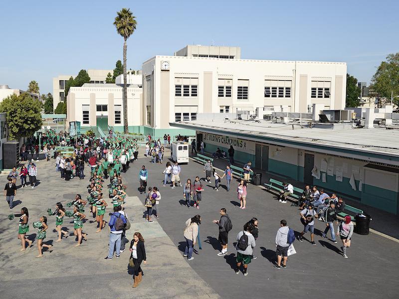 Inglewood High School, Inglewood, California (© James Mollison)