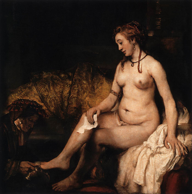 Think, that Bathsheba at her bath rembrandt confirm. was